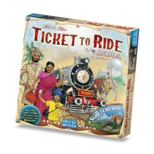 bordspellen-ticket-to-ride-india