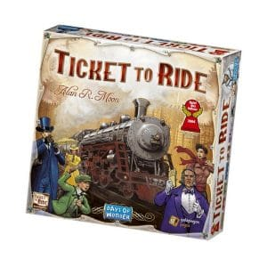 bordspellen-ticket-to-ride-usa