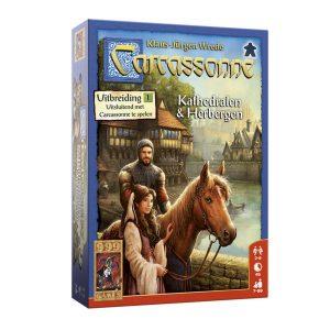 bordspellen-carcassonne-kathedralen-herbergen