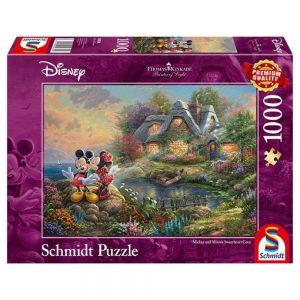 puzzel-disney-mickey-and-minnie-1000-stukjes