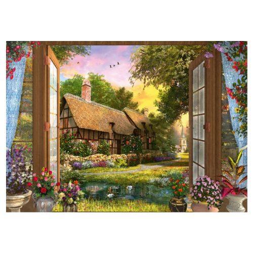 puzzel-domonic-davison-uitzicht-op-de-cottage-1000-stukjes (1)