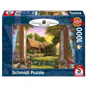 puzzel-domonic-davison-uitzicht-op-de-cottage-1000-stukjes