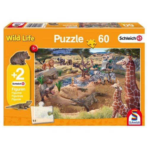puzzel-schleich-aan-de-waterbron-60-stukjes