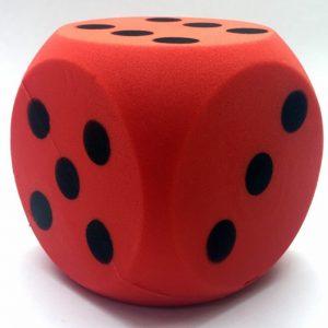 accessoires-foam-dobbelsteen-rood-16cm