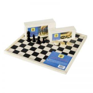 bordspellen-dam-schaakbord-40-cm