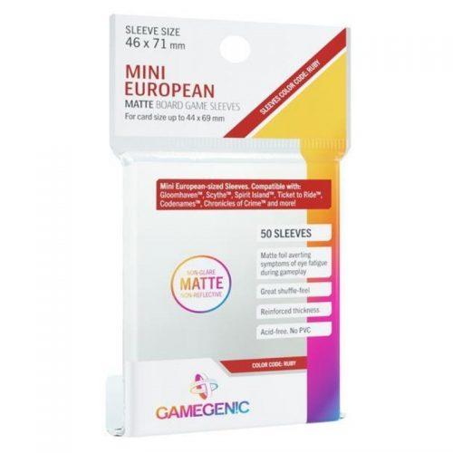 bordspel-accessoires-board-game-sleeves-matte-ruby-46-x-71-mm-50-st
