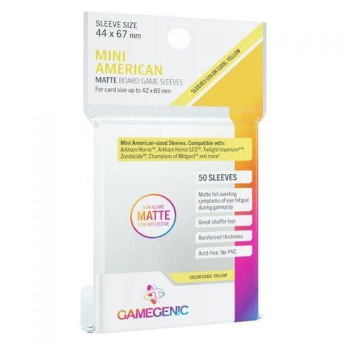bordspel-accessoires-board-game-sleeves-matte-yellow-44-x-67-mm-50-st