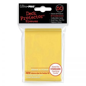 bordspel-accessoiress-board-game-sleeves-yellow-66-91-mm-50ST