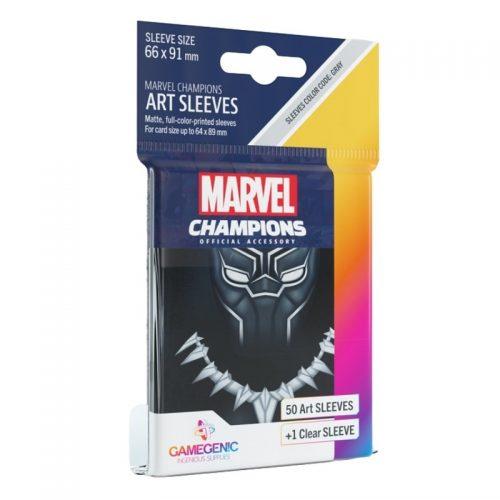 bordspel-sleeves-board-game-sleeves-marvel-champions-black-panther-66-x-91-mm