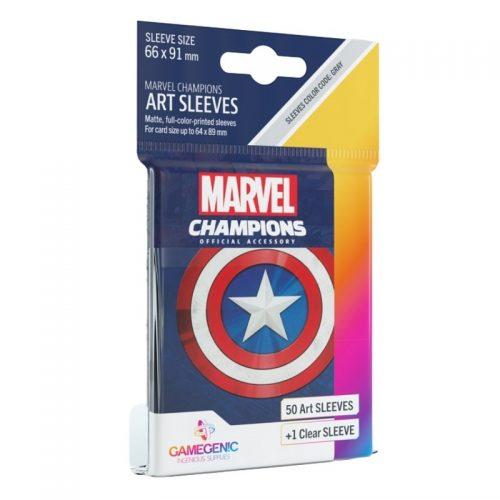 bordspel-sleeves-board-game-sleeves-marvel-champions-captain-america-66-x-91-mm