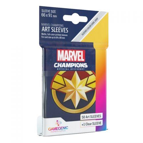 bordspel-sleeves-board-game-sleeves-marvel-champions-captain-marvel-66-x-91-mm