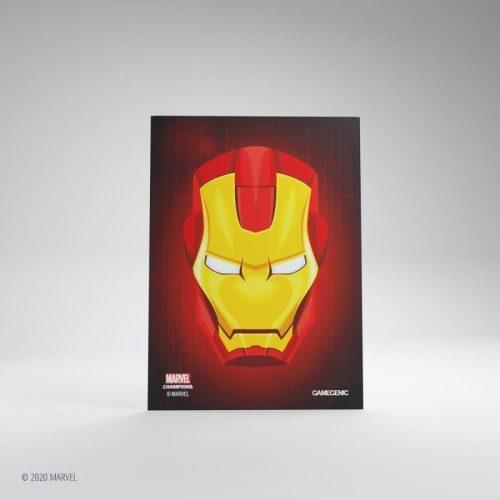 bordspel-sleeves-board-game-sleeves-marvel-champions-iron-man-66-x-91-mm (2)