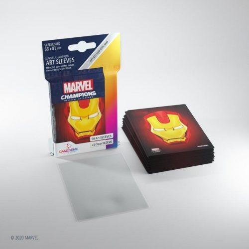 bordspel-sleeves-board-game-sleeves-marvel-champions-iron-man-66-x-91-mm (3)