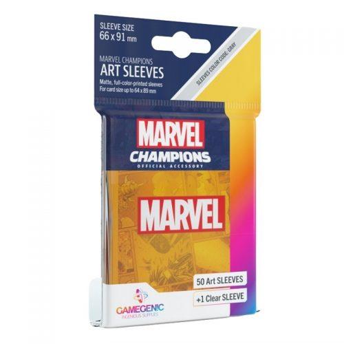 bordspel-sleeves-board-game-sleeves-marvel-champions-marvel-orange-66-x-91-mm