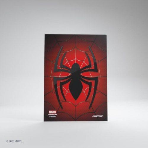 bordspel-sleeves-board-game-sleeves-marvel-champions-spider-man-66-x-91-mm (1)