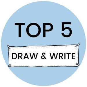 Top 5 draw & write spellen