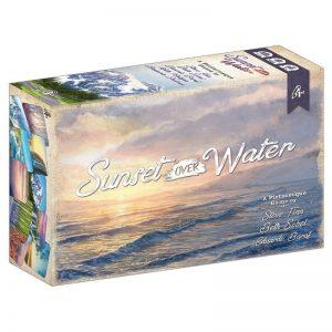 kaartspellen-sunset-over-water