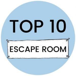 Top 10 escape room spellen
