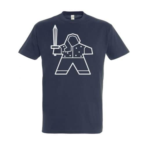 merchandise-t-shirt-vrouw-de-spelletjes-vrienden-warrior-marieke-navy