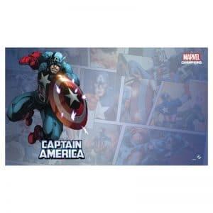 bordspel-accessoires-marvel-champions-lcg-captain-america-playmat