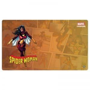 bordspel-accessoires-marvel-champions-lcg-spider-woman-playmat