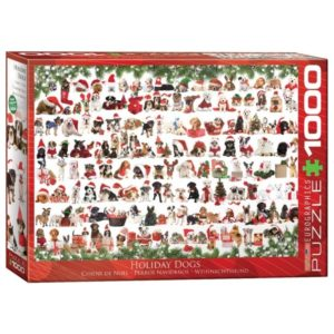 puzzel-eurographics-holiday-dogs-1000-stukjes