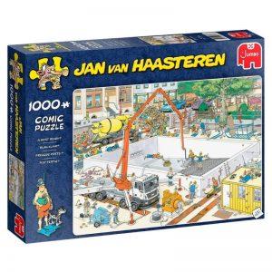 puzzel-jan-van-haasteren-bijna-klaar-1000-stukjes