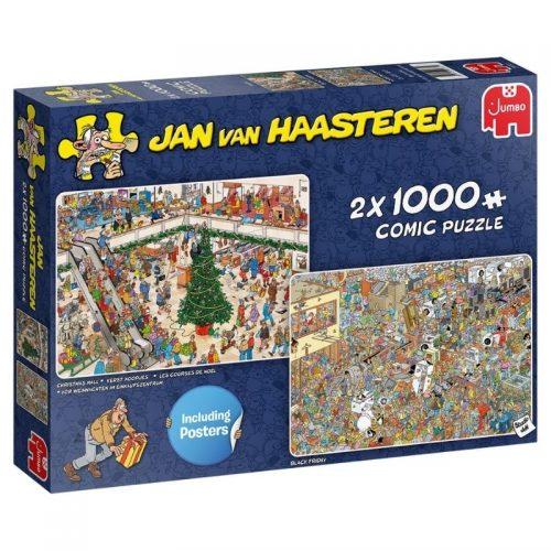 puzzel-jan-van-haasteren-kerst-koopjes-2-x-1000-stukjes