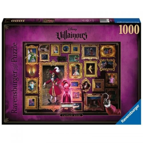 puzzel-ravensburger-disney-villainous-captain-hook-1000-stukjes