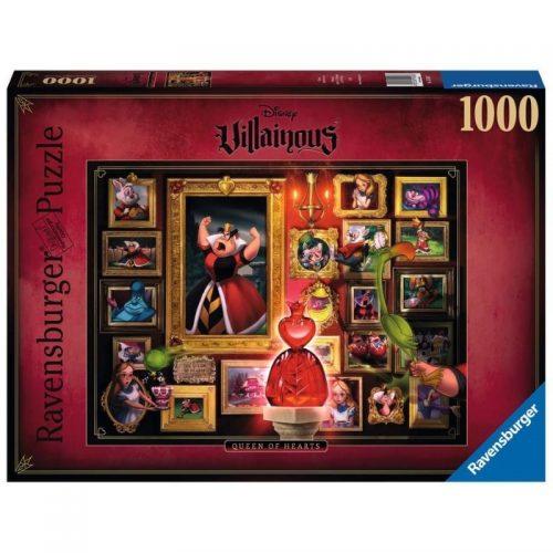 puzzel-ravensburger-disney-villainous-queen-of-hearts-1000-stukjes