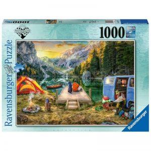 puzzel-ravensburger-rustige-kampeeplek-1000-stukjes