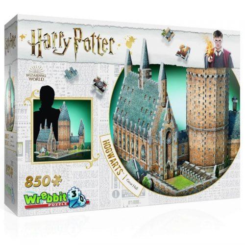 puzzel-wrebbit-3d-puzzel-harry-potter-hogwarts-great-hall-850-stukjes