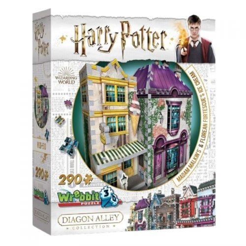 puzzel-wrebbit-3d-puzzel-harry-potter-madam-malkins-florean-fortescues-ice-cream-290-stukjes (1)