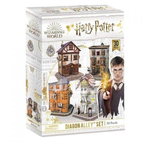 puzzels-3d-puzzel-harry-potter-diagon-alley-set-272-stukjes