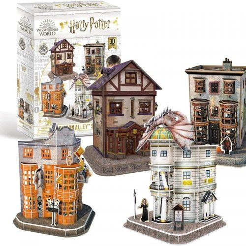 puzzels-3d-puzzel-harry-potter-diagon-alley-set-272-stukjes (1)