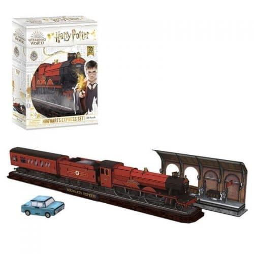 puzzels-3d-puzzel-harry-potter-hogwarts-express-197-stukjes (1)
