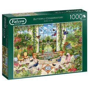 puzzel-falcon-butterfly-conservatory-1000-stukjes