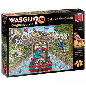 puzzel-wasgij-original-33-rustig-aan-het-kanaal-1000-stukjes