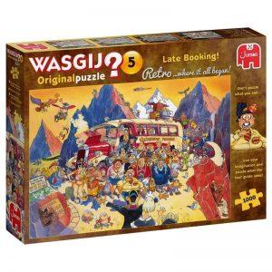 puzzel-wasgij-retro-original-5-last-minute-booking-1000-stukjes