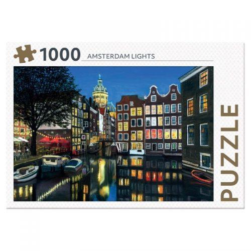 legpuzzel-rebo-amsterdam-lights-1000-stukjes