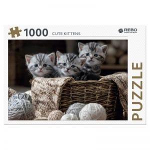 legpuzzel-rebo-cute-kittens-1000-stukjes