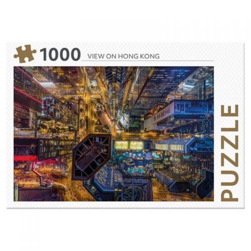 legpuzzel-rebo-view-on-hong-kong-1000-stukjes