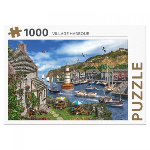 legpuzzel-rebo-village-harbour-1000-stukjes