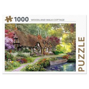 legpuzzel-rebo-woodland-walk-cottage-1000-stukjes