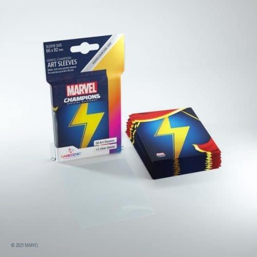 bordspel-sleeves-board-game-sleeves-marvel-champions-ms-marvel-66-x-91-mm (2)