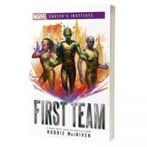 boeken-marvel-xaviers-institute-first-team