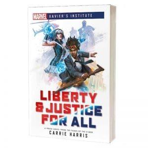 boeken-marvel-xaviers-institute-liberty-justice-for-all
