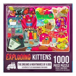 puzzel-legpuzzel-expldoding-kittens-the-dreams-and-nightmares-of-a-dog-1000-stukjes